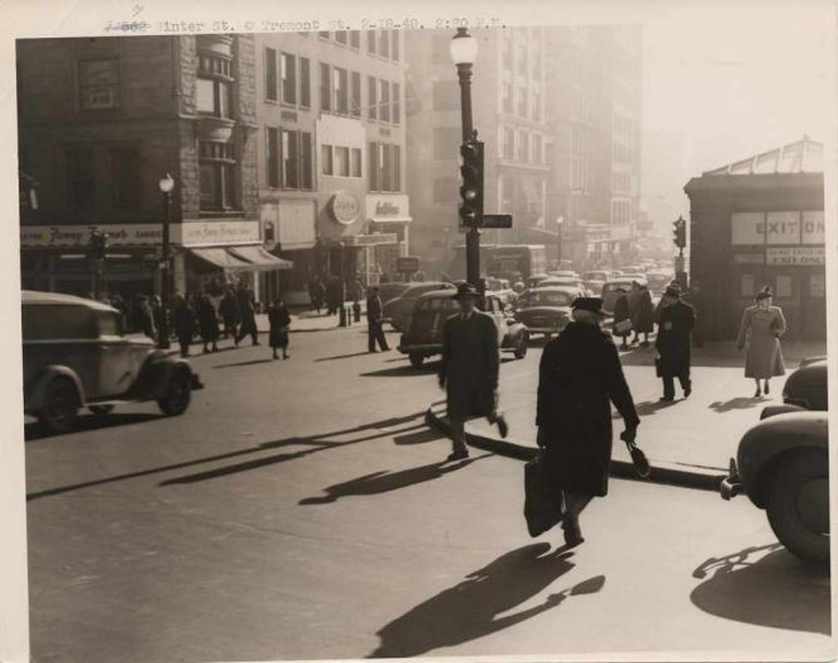 Winter Street at Tremont Street © City of Boston Archives/ Flickr