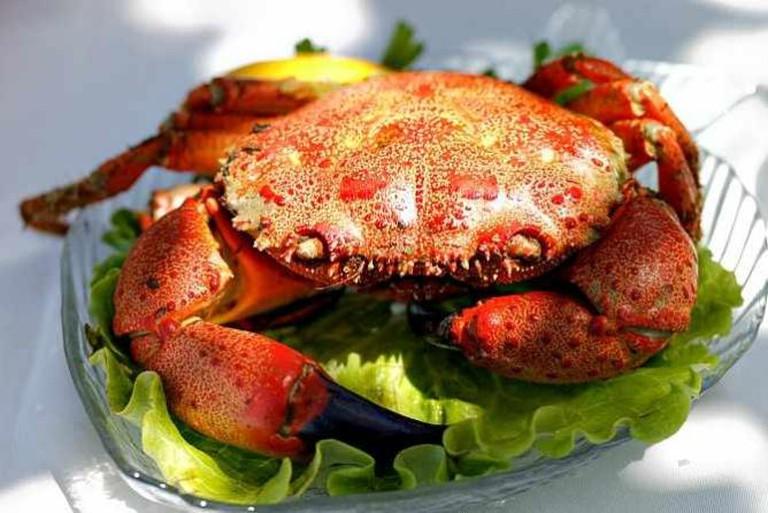 Red crab | © Велислав/Flickr