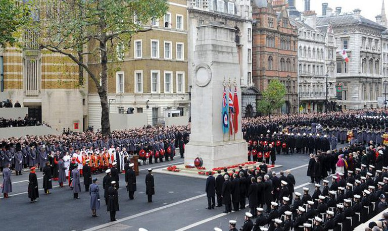 Remembrance Day at the Cenotaph | © Sgt Dan Harmer, RLC/MOD/WikiCommons