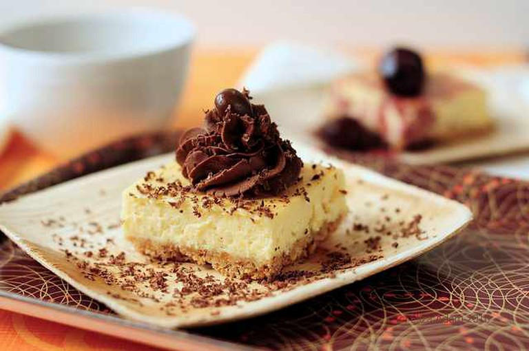 Zabaglione cheesecake | © Eliza Adam/Flickr