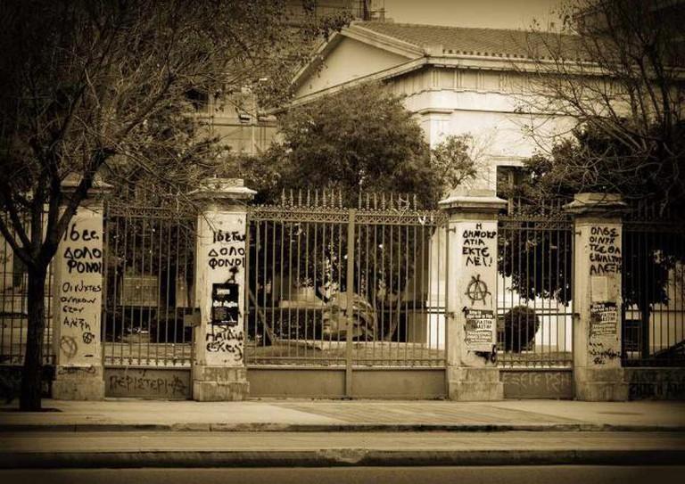 Athens Polytechnic School | © Christine Zenino/Flickr