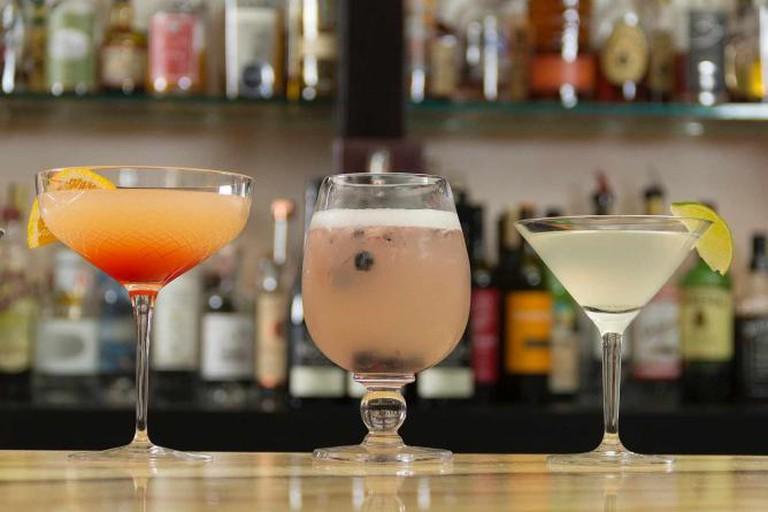 Nubar Cocktails in Didriks Glassware © Didriks Glassware/ Flickr
