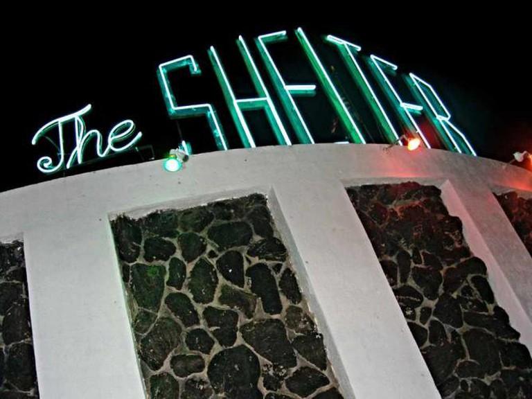 The outside facade of The Shetler in Tucson.