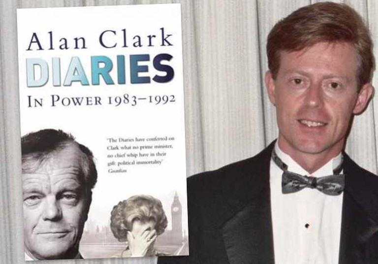 Alan Clark Diaries: In Power   © Weidenfeld & Nicolson / Alan Clark   © Alan Light/WikiCommons