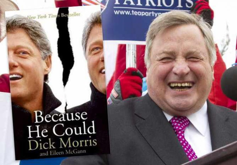 Because He Could   © HarperCollins / Dick Morris speaking in 2011   © Mark Taylor/Flickr