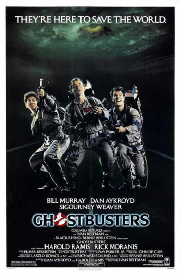 Ghostbusters Cinematic Poster © Black Rhino, Delphi Productions
