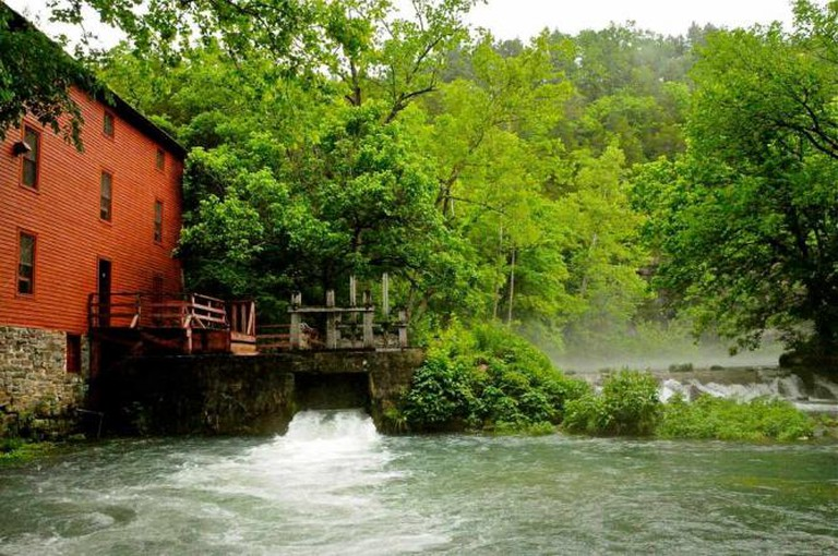 Alley Spring and Mill, Ozark National Scenic Riverways, Shannon County | © CMFRIESE/Flickr