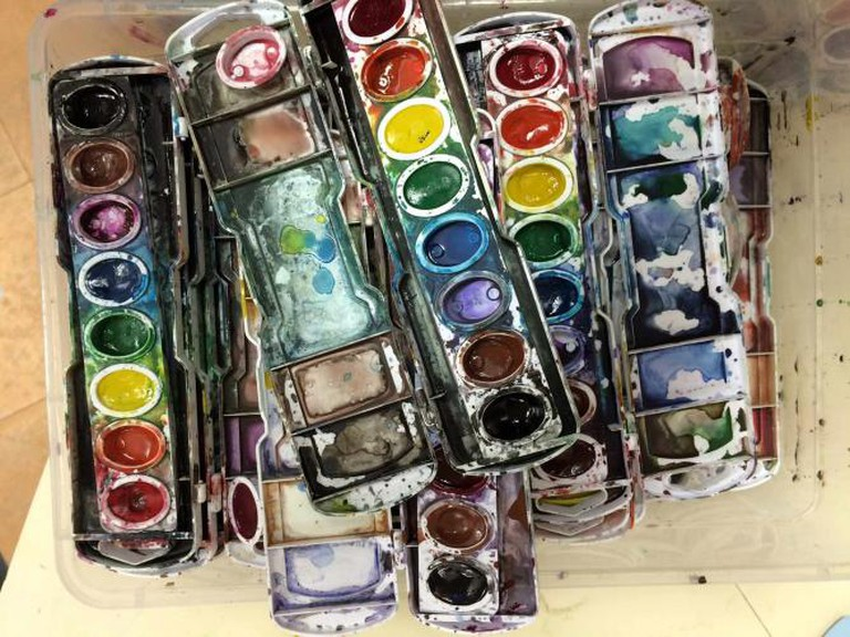 Paint supplies | © Steven Depolo/Flickr