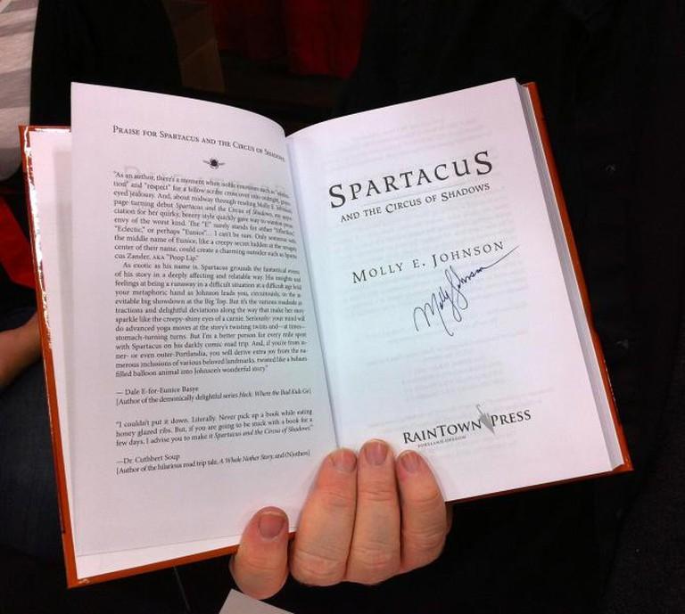 Tin House Wordstock Bingo: Author Signature, at Wordstock | © Janet/Flickr