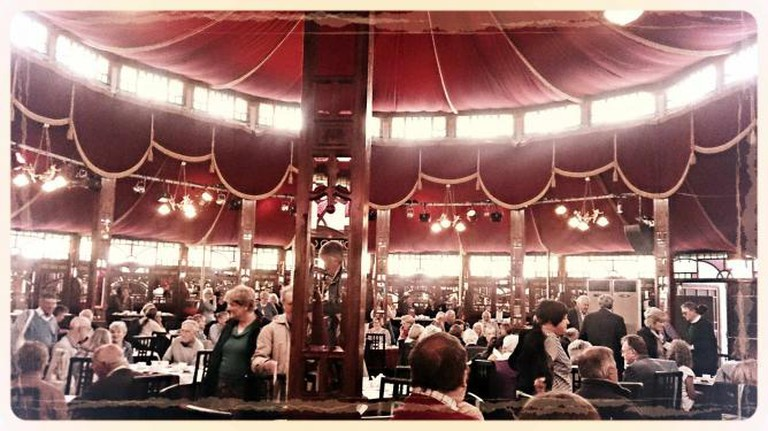 The Spiegeltent | Rory McInnes-Gibbons