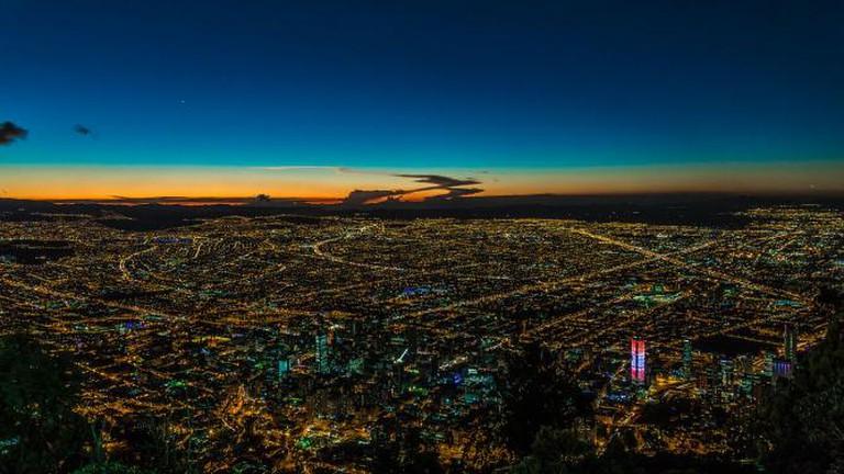 Bogota by night | © Robert/Flickr