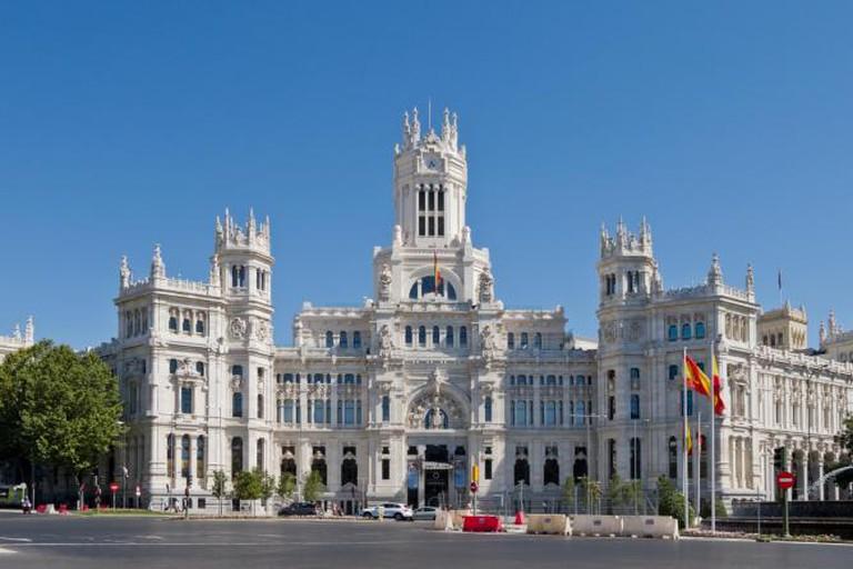 Palace of Communication, Madrid, Spain.