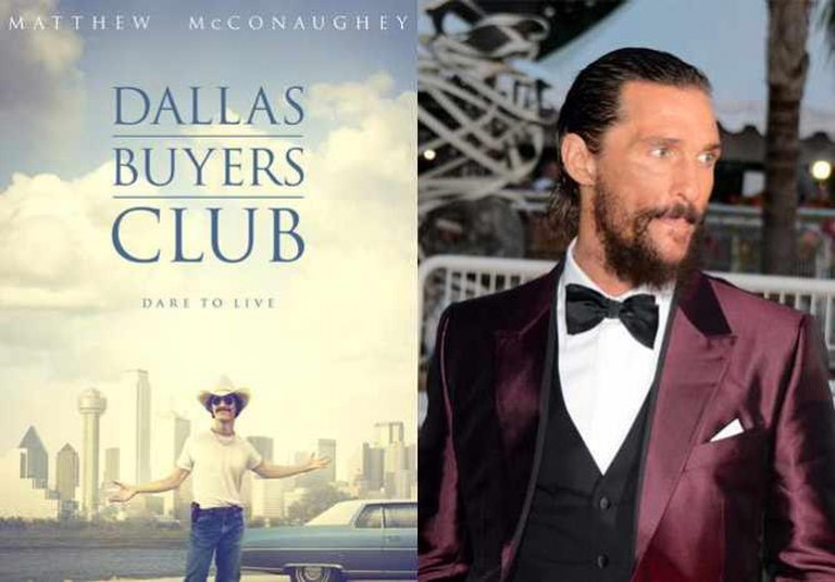 Dallas Buyers Club and Matthew McConaughey | © Focus Features/WikiCommons, © Georges Biard/WikiCommons