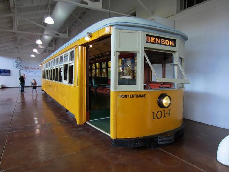 Train Car at Durham Museum