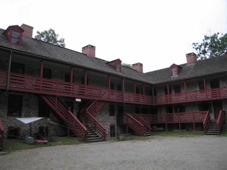 View of Barracks