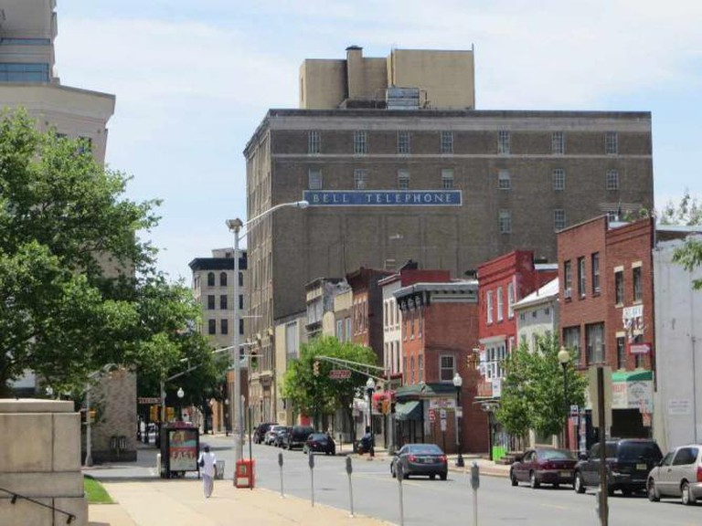 Downtown Trenton