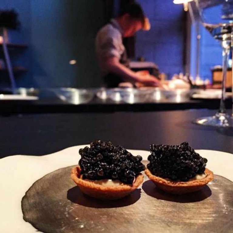 Caramelized Crème Fraiche and Caviar | Image Courtesy of Onceuponabite