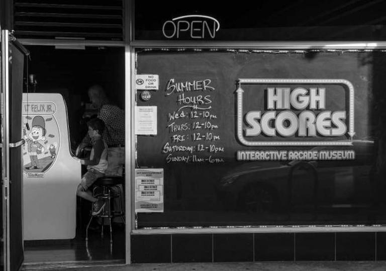 High Scores Arcade | © ali sinan köksal/Flickr