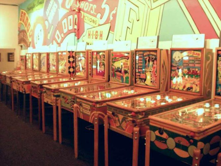 Pacific Pinball Museum | ©Alex Eylar/ Flickr