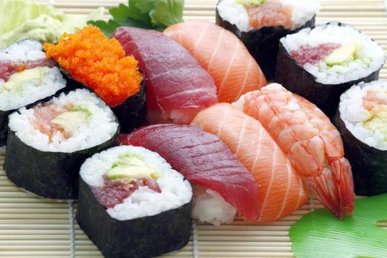 Sushi Plate | © ADOnlinePromo/Pixabay