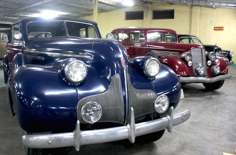 A rare model of Buick Roadmaster from 1939 spotted at Vintage Car Museum in Ahmedabad | © Aditi Gupta