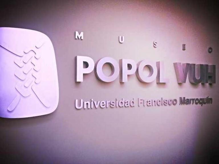 Museo Popol Vuh at University Fransisco Marroquín