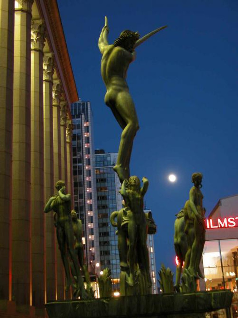 Carl Milles's Orpheus statue| © Jan-Olav Wedin