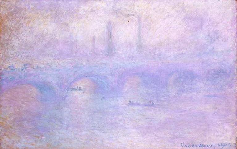 Waterloo Bridge in Fog, by Claude Monet, 1903 | © Hermitage Museum/Wikicommons