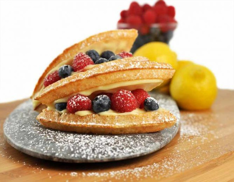 Lemon Cream and Berries | Courtesy of Bruxie