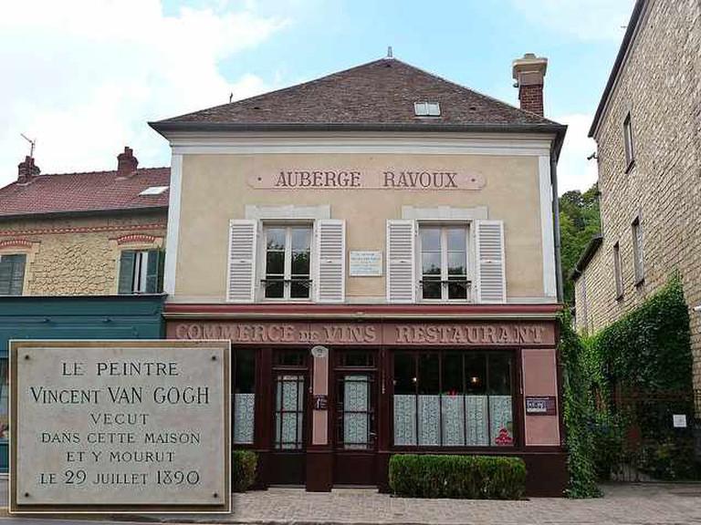 Auberge Ravoux. Auvers-sur-Oise  © emmrichard/Flickr