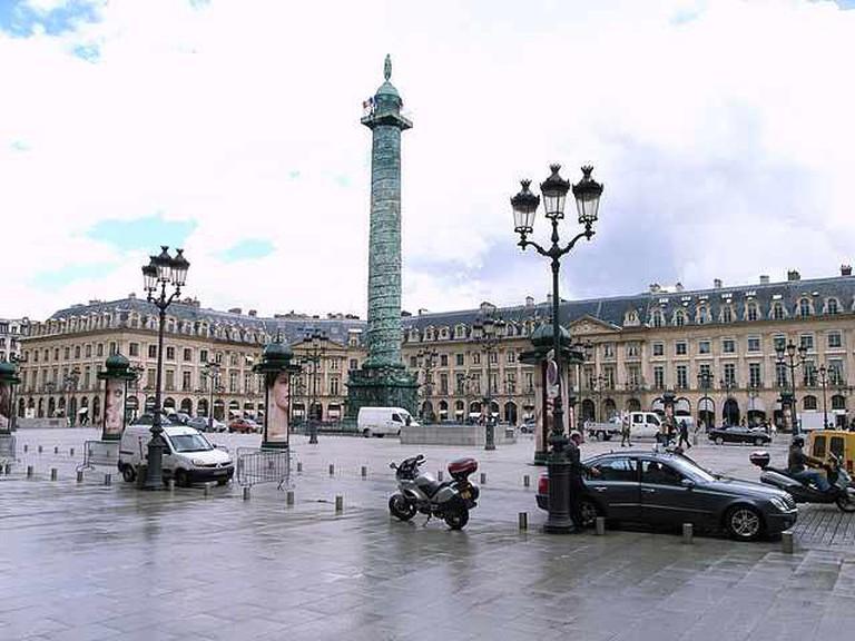 Place Vendôme, Paris | © Stevecadman/WikiCommons