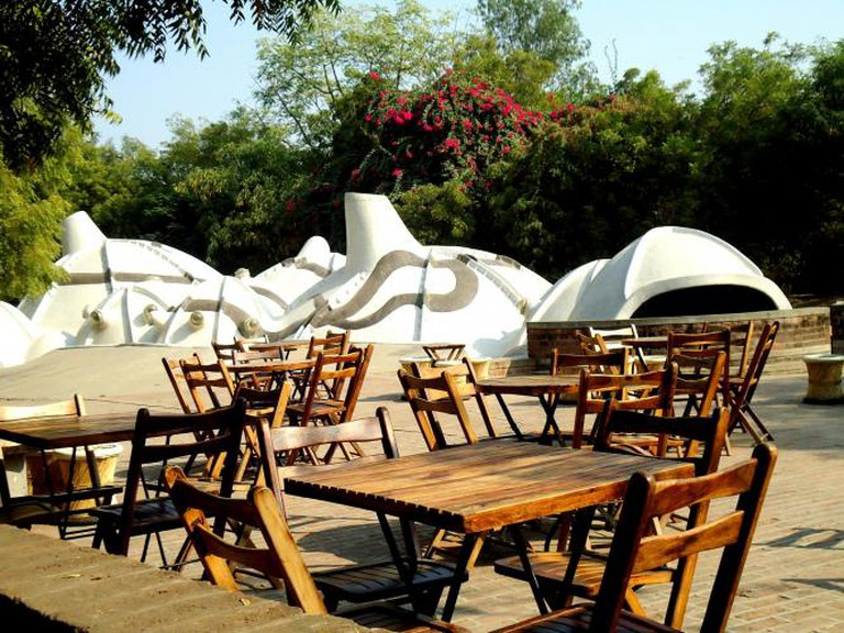 Zen Café and Amdavad ni Gufa | © Jaimil joshi/WikiCommons