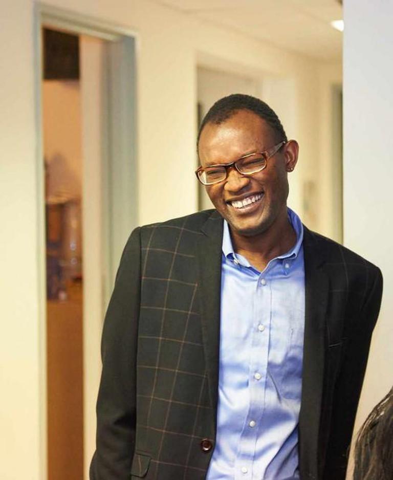 Fiston Mwanza Mujila at Bozar | Courtesy of Bozar