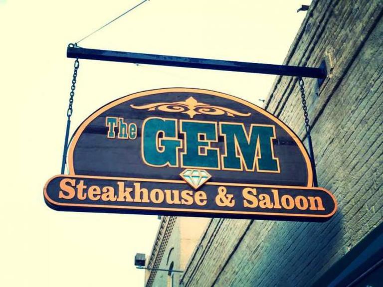 Courtesy of Gem Steakhouse & Saloon