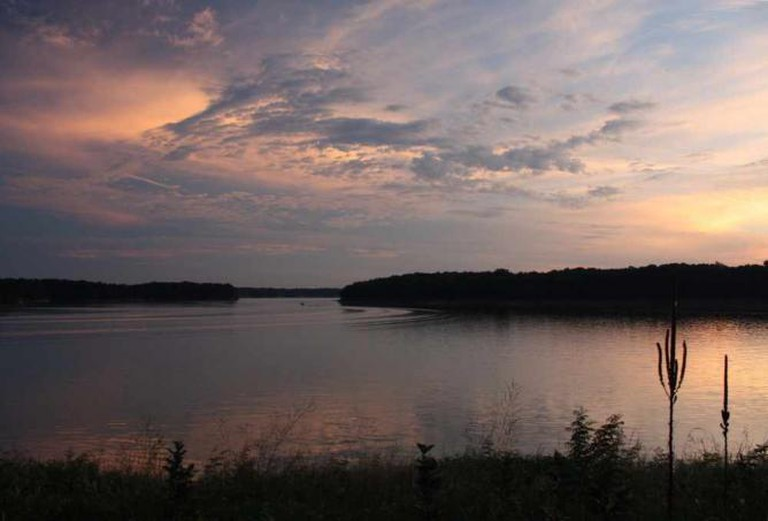 Sunset at Wolf Creek State Park, Shelby County | © Anne Swoboda/Flickr