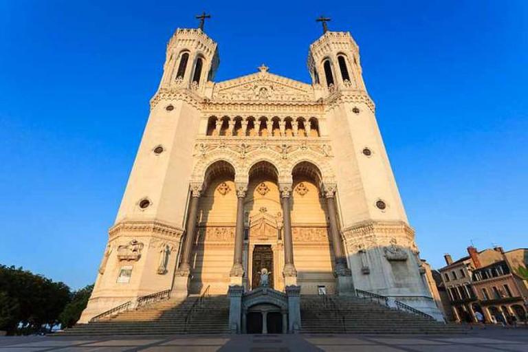 Basilique Notre-Dame de Fourvière à Lyon | © Fenliokao/WikiCommons