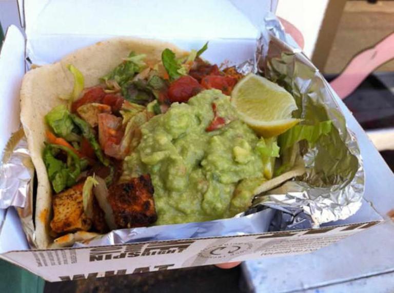 Vegan Tofu Asada Taco at Trippy Taco   Belinda (miscdebris)/Flickr