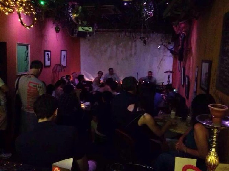 Open Mic night at My Place Ruin Bar | Courtesy of My Place Ruin Bar