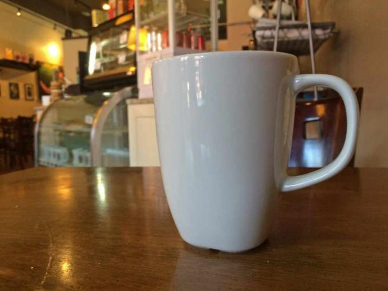 Cup of Coffee at Yefseis| © Benita Gingerella