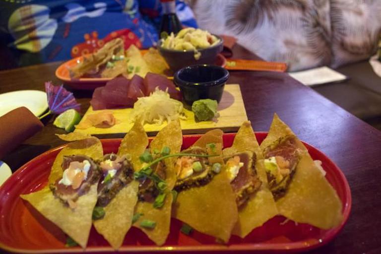 Dinner at Hula's Island Grill