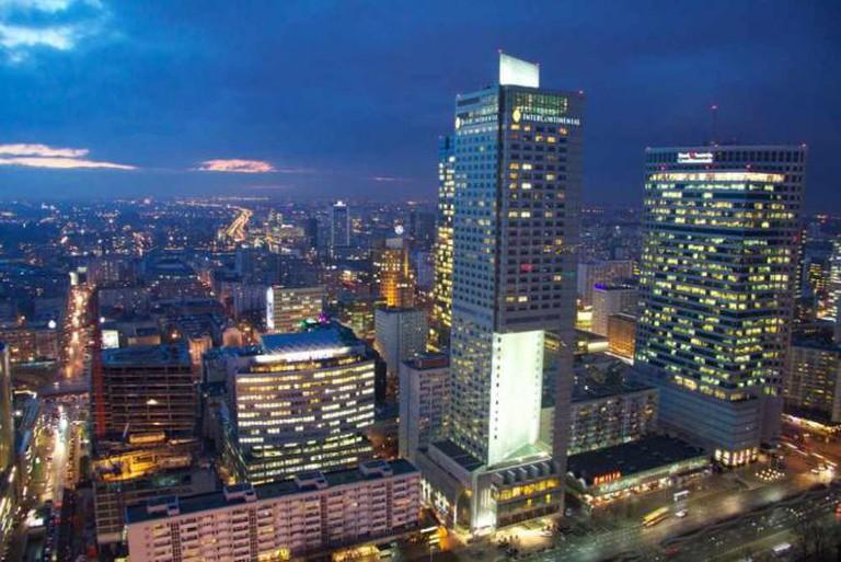 Warsaw cityscape | © Simon Winch/Flickr
