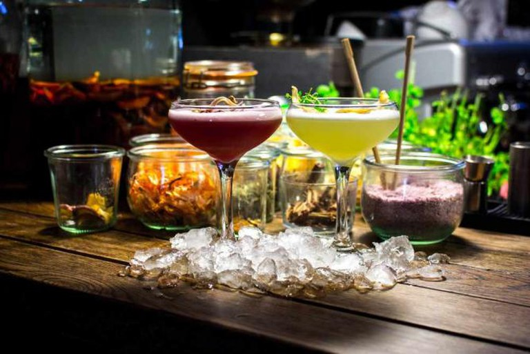 Klar's cocktails and infusions | Courtesy of Klar