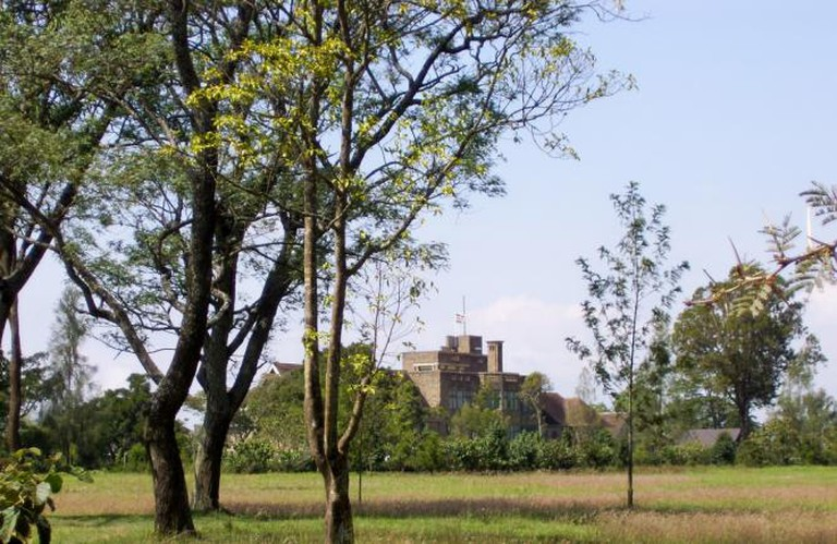 Lord Egerton Castle from a distance (cropped version) | © Trees ForTheFuture/Flickr