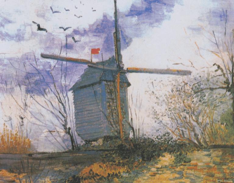 Le Moulin de la Galette, Van Gogh   © Mefusbren/WikCommons