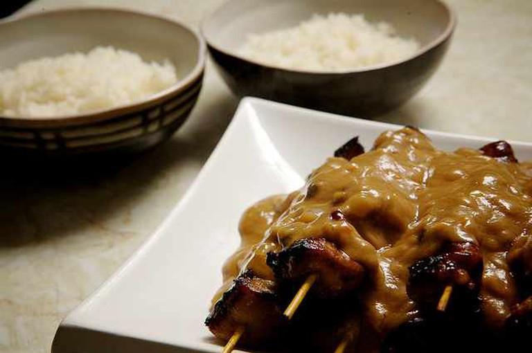 Satay Chicken Recipe   © Mathew Packer/Flickr