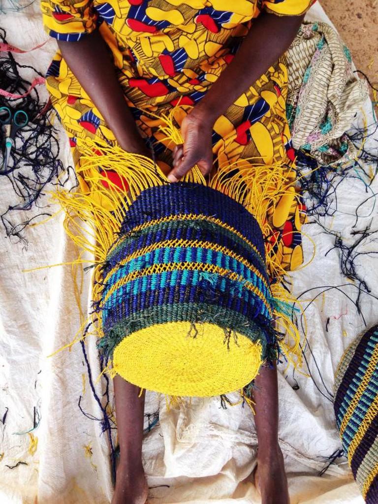 Traditional weaving techniques | © Akosua Afriyie-Kumi