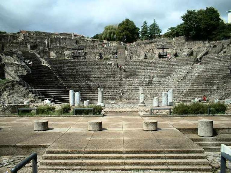 Roman Theatre of Fourviére  © Wikicommons