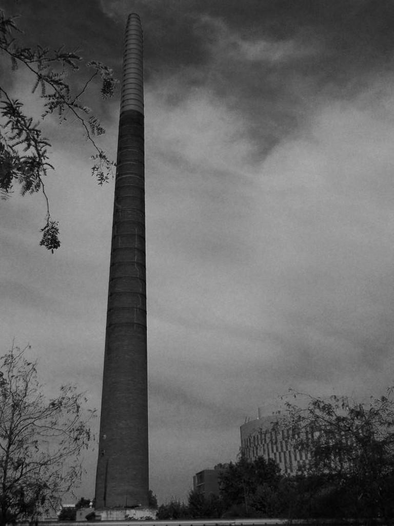 One of the many chimneys in Poblenou    © Anna Jauhola, 2015