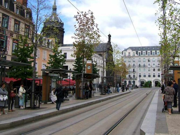 A tramway in Clermont-Ferrand | © Marc Blieux/Flickr