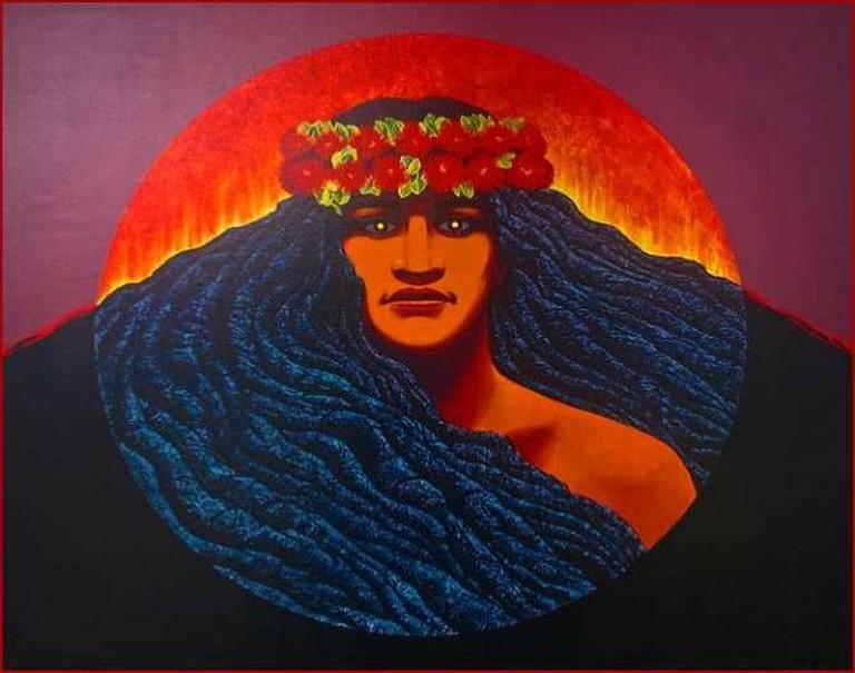 'Pele' -- Hawaiian Goddess of Volcanoes The Big Island (HI) 2014   © Ron Cogswell/Flickr